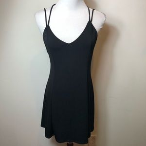 Urban outfitters Silence + noise black dress M